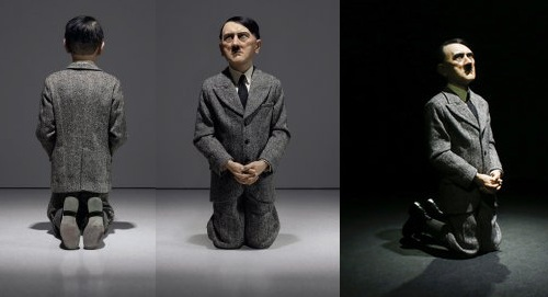 Bức tượng trùm phát xít Hitler từng gây tranh cãi