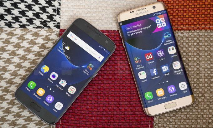 Samsung Galaxy S7 Edge là điện thoại Android bán chạy nhất năm - 1