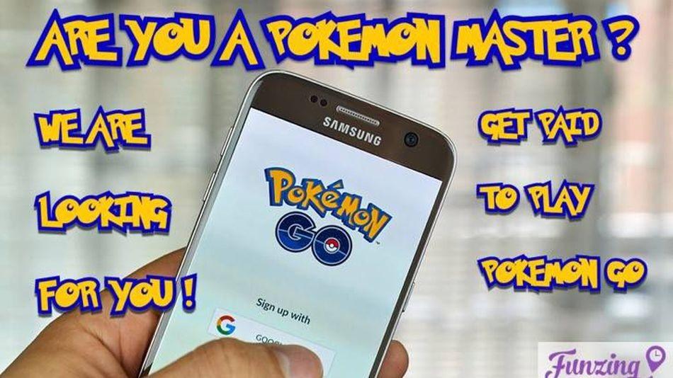 Bất ngờ trước công ty Singapore trả tiền để chơi Pokemon Go - 1