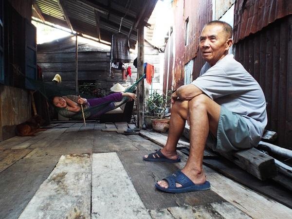 Theo UBND phường Vĩnh Phước, Cồn Nhất Trí có hơn 1.400 hộ dân với khoảng 7.000 nhân khẩu sống chen chúc với diện thích hơn 20ha.