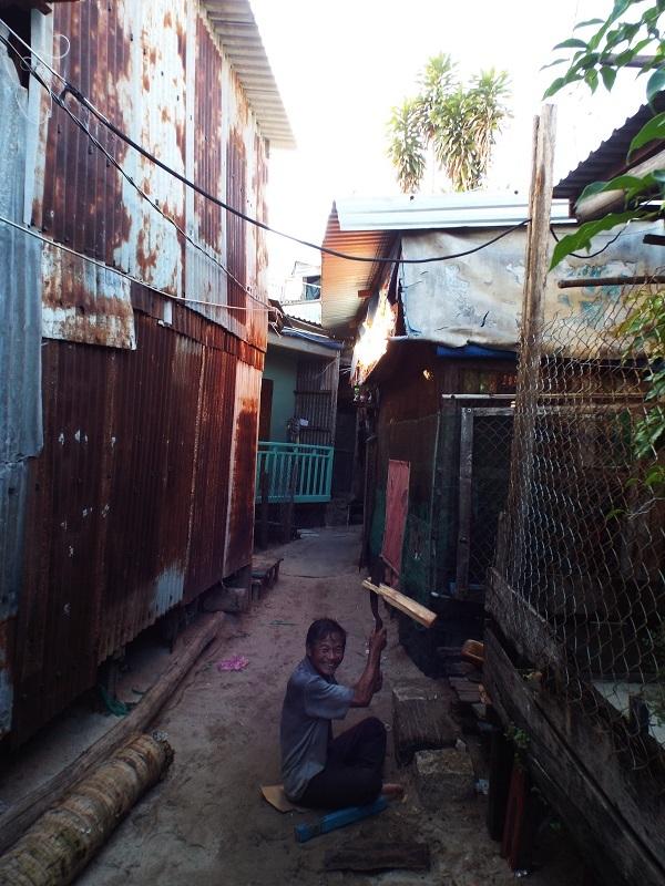 Cuộc sống của người dân xóm nhà chồ ở cồn Nhất Trí, TP biển Nha Trang