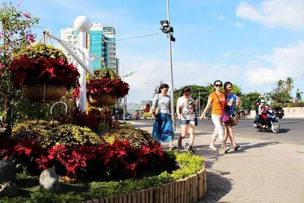 Nha Trang đã gây ấn tượng với du khách trước thềm Xuân mới