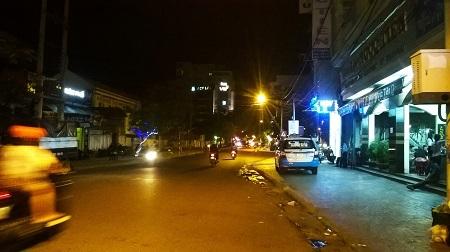 Đoạn đường nhóm du khách TP HCM bị truy sát
