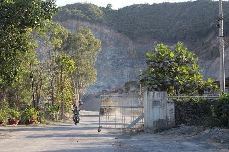 Mỏ đá nơi xảy ra vụ việc