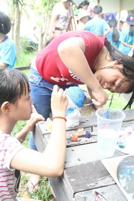 Hoạt động nhằm động viên trẻ khuyết tật trong cả nước