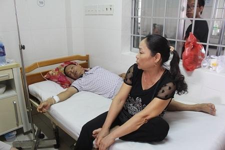 Bệnh nhân ngộ độc điều trị tại bệnh viện Đa khoa tỉnh Khánh Hòa