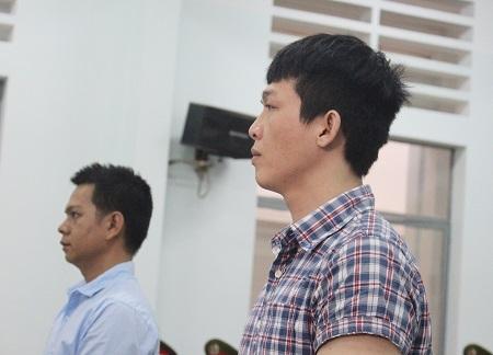 Bị cáo Phát, cựu công an viên xã Vạn Long (huyện Vạn Ninh) tại tòa phúc thẩm