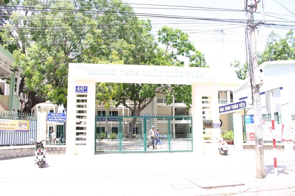 Trường THCS Trần Quốc Toản (TP Nha Trang), nơi cô Ny dạy học