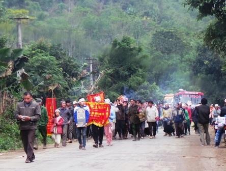 Ở xã Thiết Ống có 6 nạn nhân trong vụ sập mỏ đá.