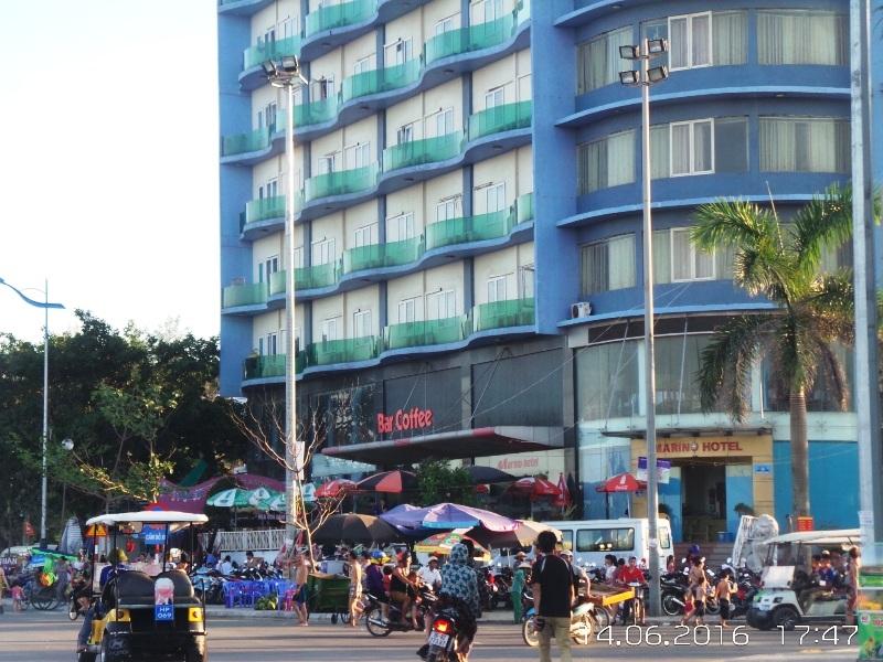 Khách sạn Marino tọa lạc ở vị trí đắc địa tại khu vực bãi biển Sầm Sơn
