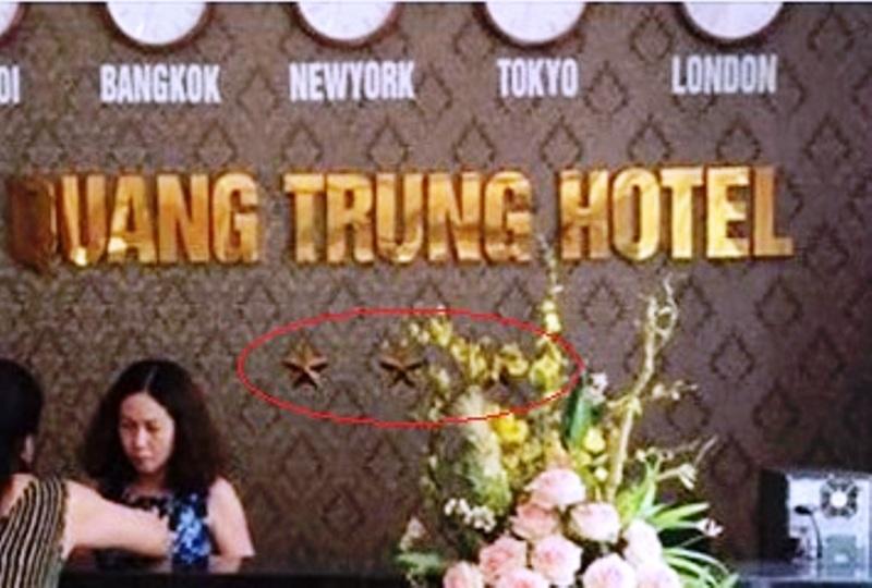 Cơ sở lưu trú chưa được thẩm định nhưng tự phong khách sạn 3 sao