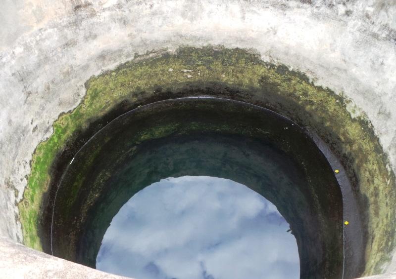 Giếng tiên nằm trong quần thể khu di tích