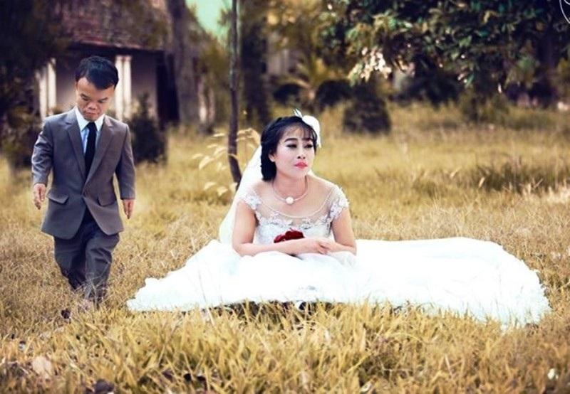 Ảnh cưới của Hữu Cường - Bích Phương (Ảnh: Facebook)