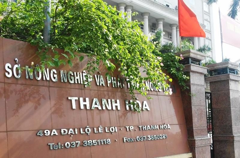 Sở NN&PTNT Thanh Hóa