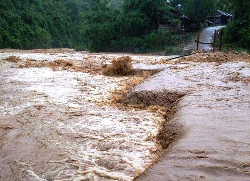 Mưa lũ đầu mùa đã gây thiệt hại nặng nề tại nhiều địa phương của Thanh Hóa