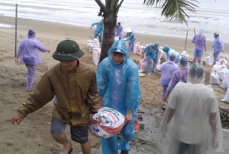 Công tác ứng phó với bão số 3 đang rất khẩn trương