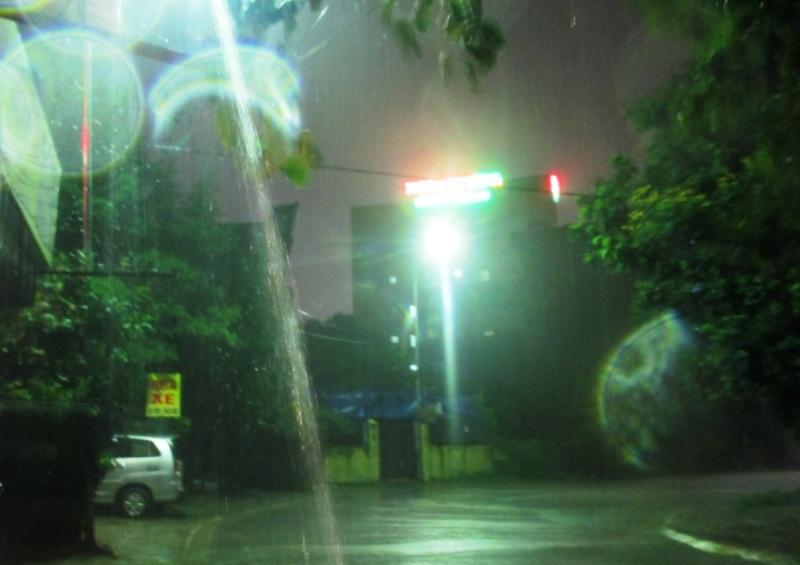 Đêm 18/8, rạng sáng ngày 19/8, Thanh Hóa đã có mưa to