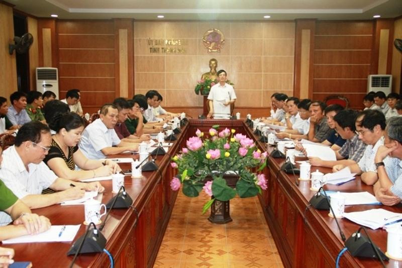 Tỉnh Thanh Hóa tổ chức họp khẩn
