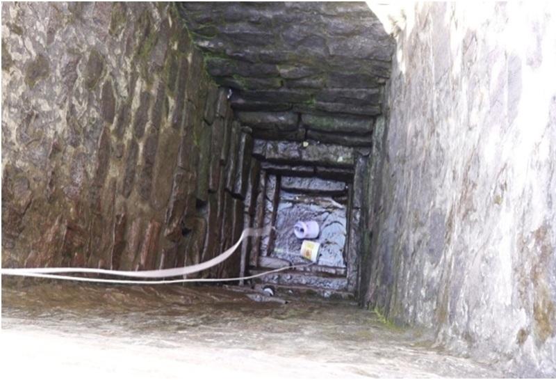 Giếng có độ sâu hơn 5 m