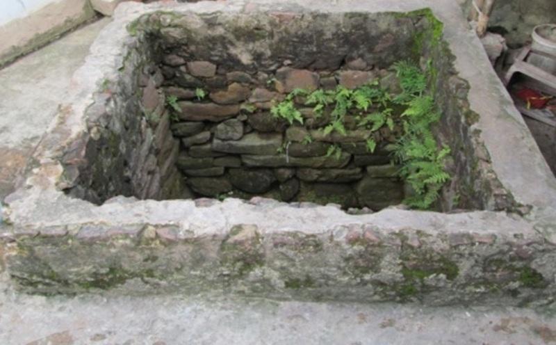 Giếng cổ được phát hiện tại xã đảo Nghi Sơn, huyện Tĩnh Gia, Thanh Hóa (Ảnh: N.M)