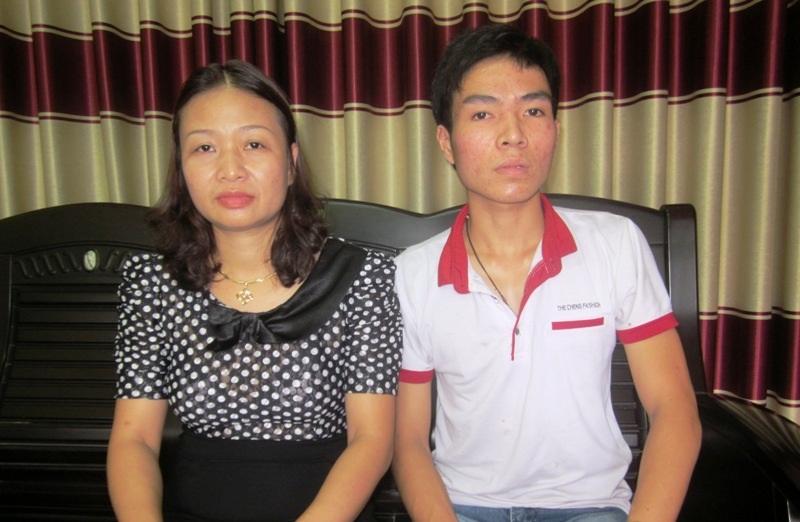 Cô Nguyễn Thị Hà rất cảm thương trước số phận cậu học trò nghèo của mình