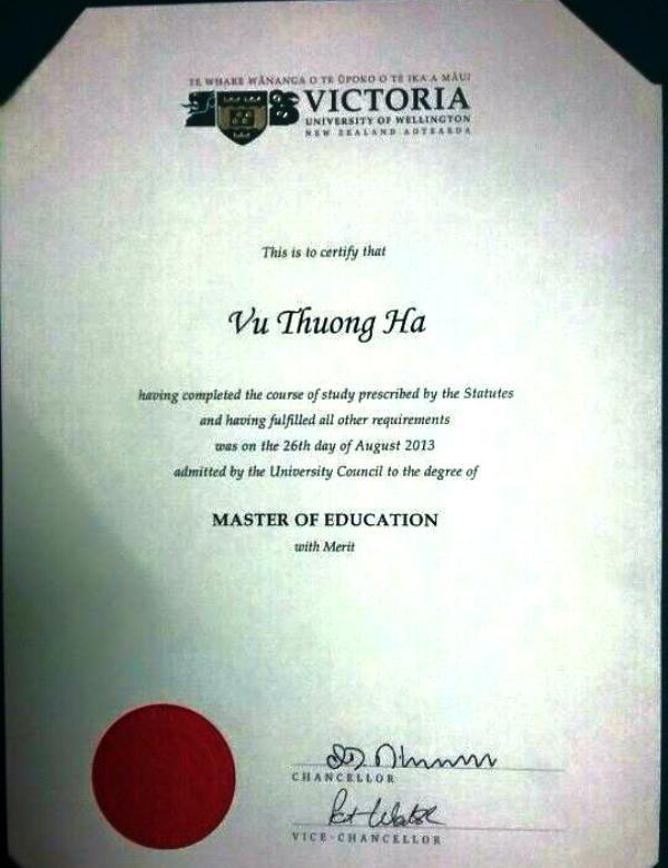 Cô Hà một giáo viên được đào tạo bài bản ở nước ngoài, tuy nhiên, việc bố trí sắp xếp của ngành giáo dục Yên Định là chưa hợp lý