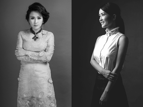 Có một điểm thú vị là cả Hồng Nhung và Thanh Lam đều chịu sự ảnh hưởng mạnh mẽ của nhạc sĩ, nhà sản xuất Quốc Trung
