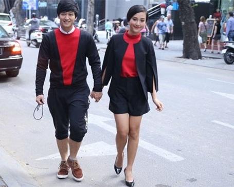 Trong ngày lễ tình nhân, cả hai sẽ cùng nhau đi dạo.