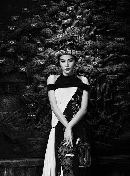 Hoa hậu Đông Nam Á Diệu Linh dịu dàng áo dài xuân - 10