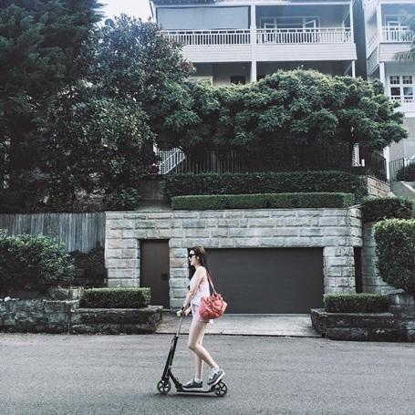 """Dương Tú Anh cho rằng: """"Biết thay đổi điểm nhìn để cuộc sống hạnh phúc hơn""""."""