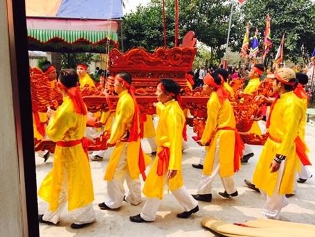 Hình ảnh tại Lễ hội truyền thống làng Trạch Xá.