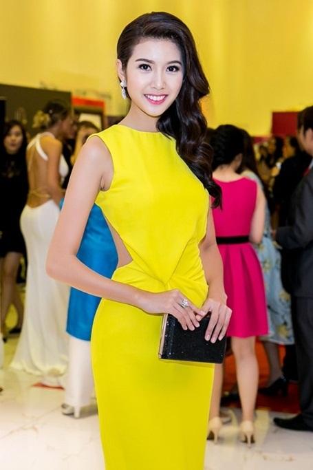Thúy Vân là Á hậu Quốc tế đầu tiên của Việt Nam. Một trong những mong ước của Thúy Vân là nâng cao nhận thức của các bạn gái hiện nay về sự bình đẳng (Ảnh: Khoa Nguyễn).