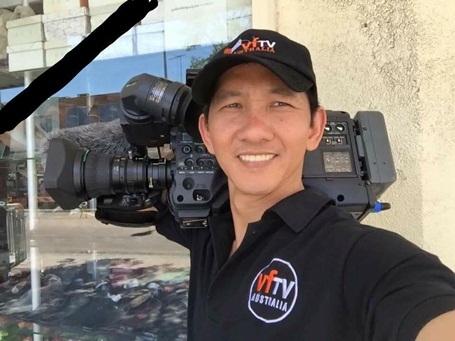 Quay phim Quốc Hương.
