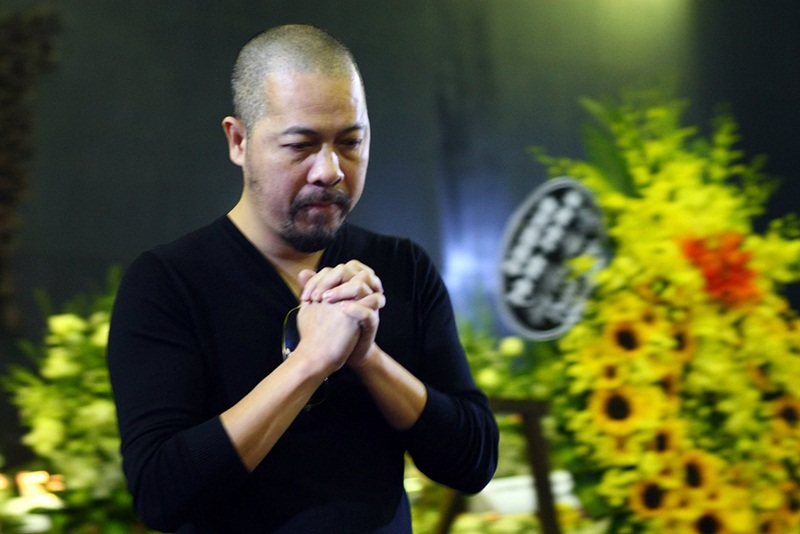 NTK Đức Hùng từ biệt nhạc sĩ Thanh Tùng.
