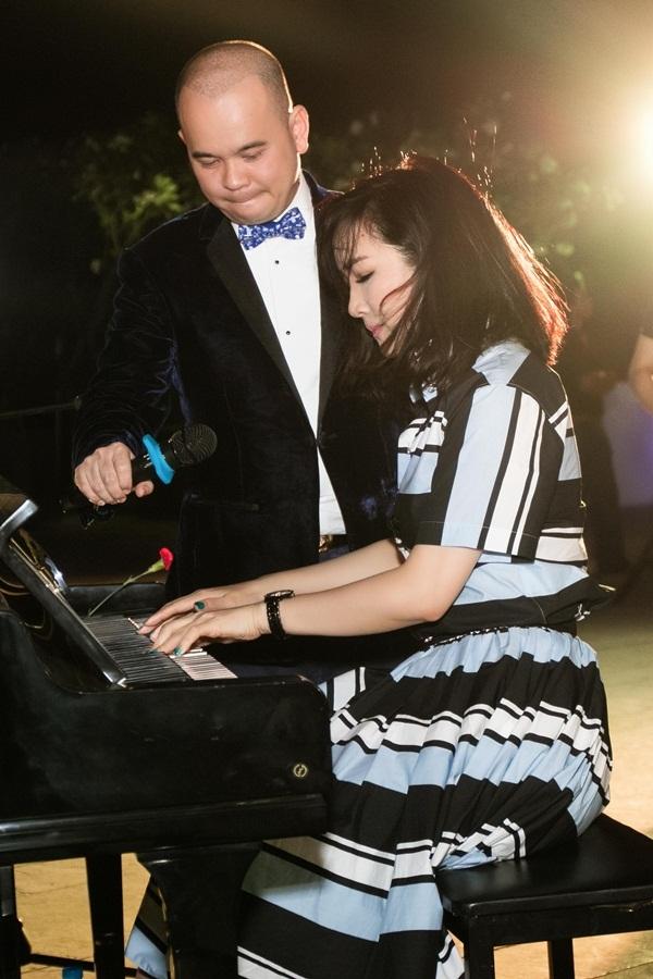 Giáng My rất đa tài, cô từng tốt nghiệp ngành Piano của nhạc viện, sau đó tham gia đóng phim và làm MC.