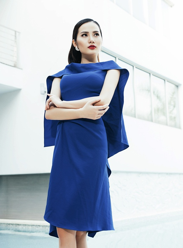 Hoa hậu Đông Nam Á Diệu Linh lạnh lùng khoe đường cong - 13