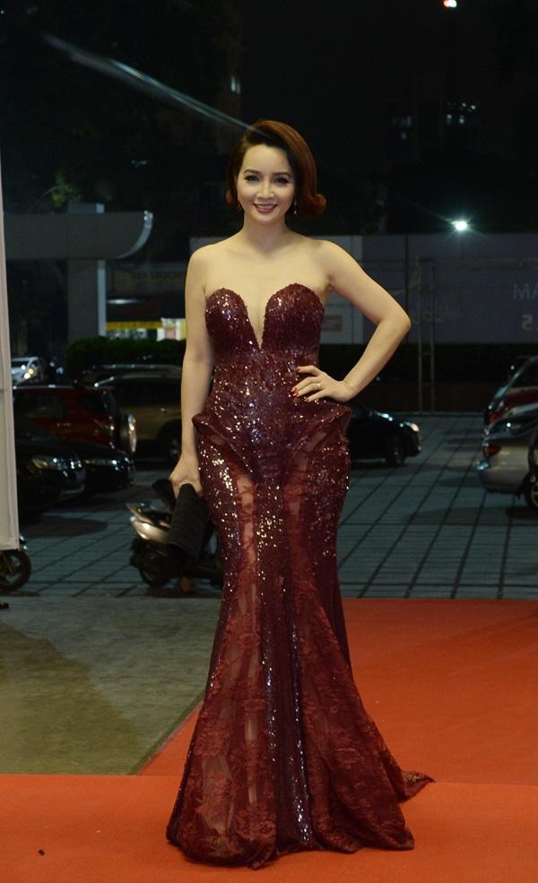 Diễn viên Mai Thu Huyền – cô được tin tưởng giao trọng trách ủy viên trong Ban giám khảo giải thưởng Cánh diều 2015.