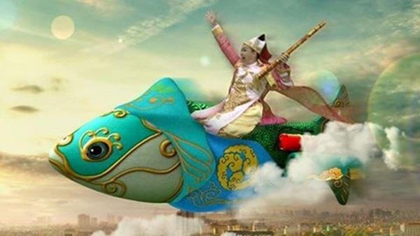 """Chí Trung, Vân Dung tiết lộ """"sự thật"""" cưỡi cá lên chầu trời - 2"""