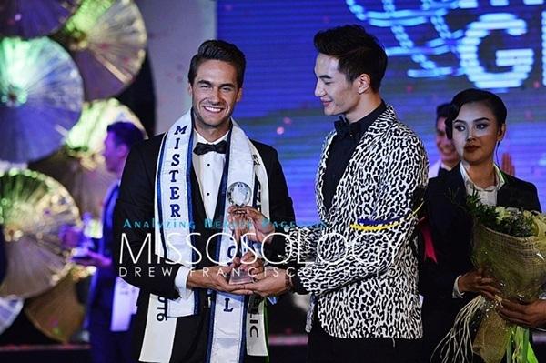 Danh hiệu Mister Global 2016 được trao cho đại diện Cộng hòa Séc - Tomas Martinka.