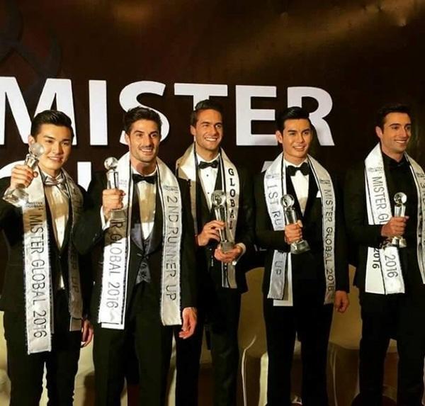 Thawatchai Jaikharn - thí sinh Thái Lan - giành ngôi Á quân Mister Global 2016. Các vị trí trong top 5 thuộc về đại diện của Tây Ban Nha, Brazil và Singapore.