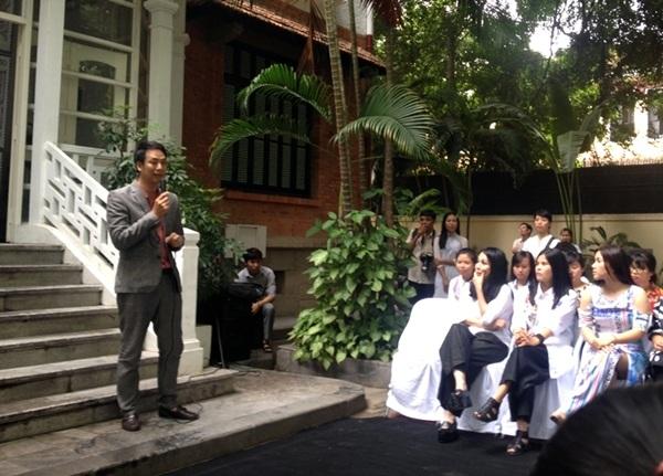 Tổng đạo diễn Quang Tú bật mí về chương trình.