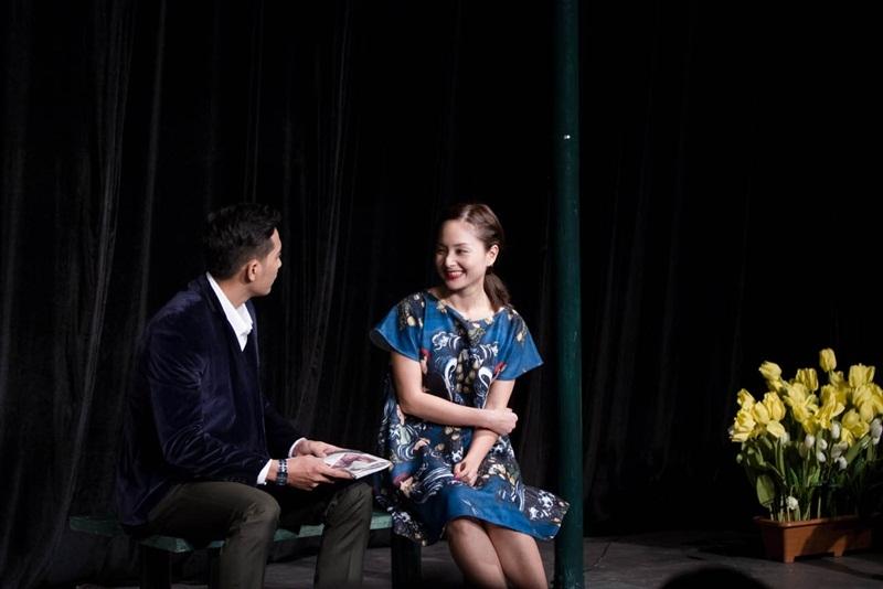 Hình ảnh Lan Phương xinh đẹp trên sân khấu với nét rạng rỡ, hạnh phúc sau suất diễn chiếm trọn trái tim mọi người, từ khán giả nhí đến khán giả người lớn.