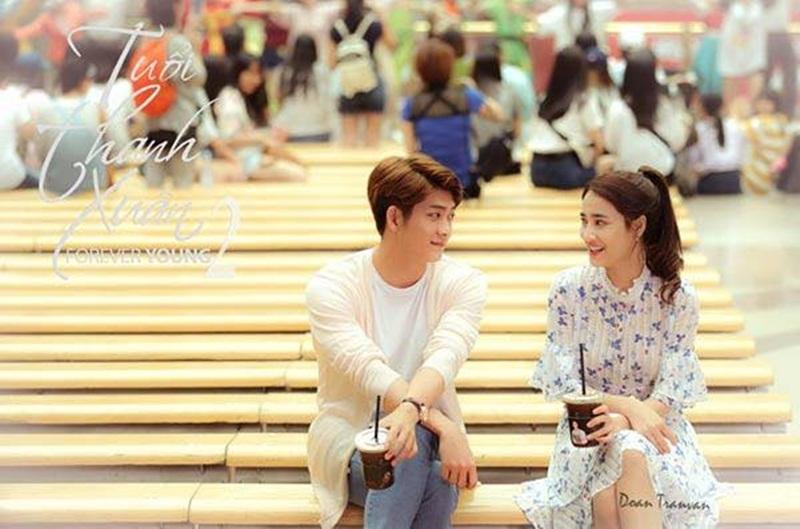 """Nhã Phương cùng ê-kip hé lộ một số cảnh phim """"Tuổi xanh xuân 2"""" - 5"""