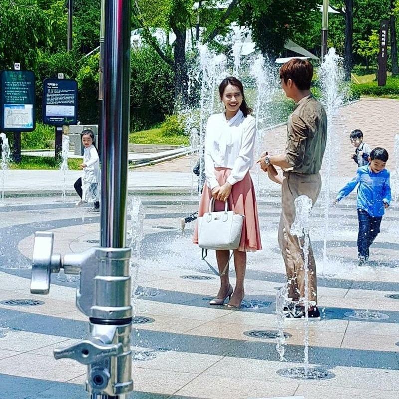 """Nhã Phương cùng ê-kip hé lộ một số cảnh phim """"Tuổi xanh xuân 2"""" - 8"""