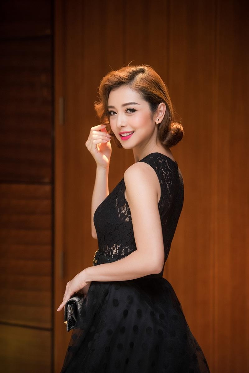 Hoa hậu Jennifer Phạm khoe vẻ đẹp kiêu kì - 7