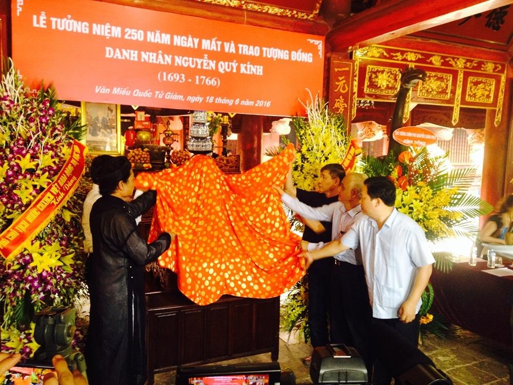 Long trọng lễ tưởng niệm 250 năm ngày mất danh nhân Nguyễn Quý Kính - 4