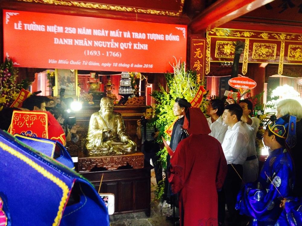Long trọng lễ tưởng niệm 250 năm ngày mất danh nhân Nguyễn Quý Kính - 6