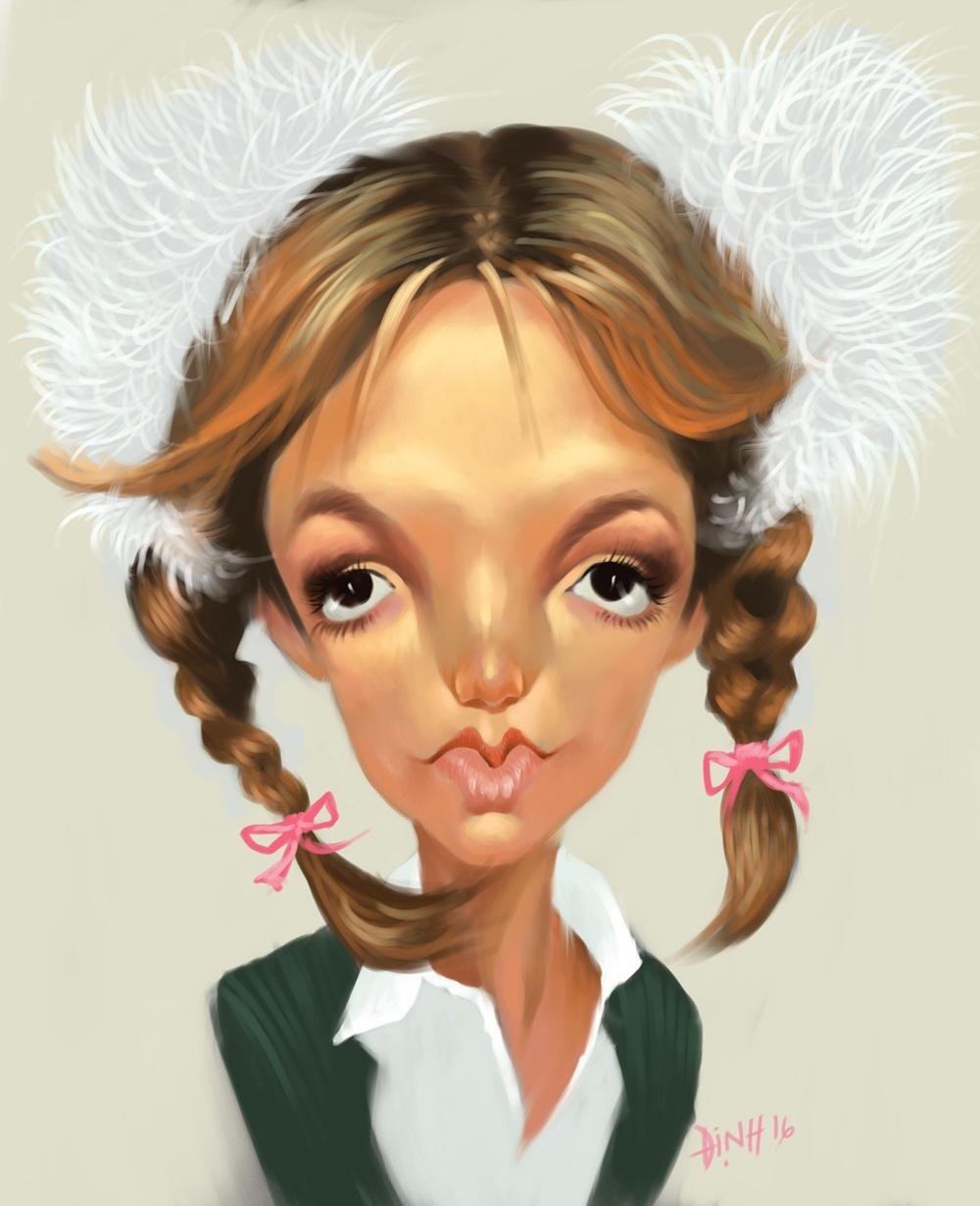 Công chúa nhạc Pop Britney Spears.