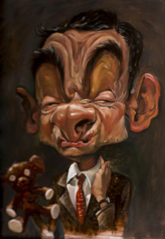 Danh hài Rowan Atkinson - Mr. Bean.