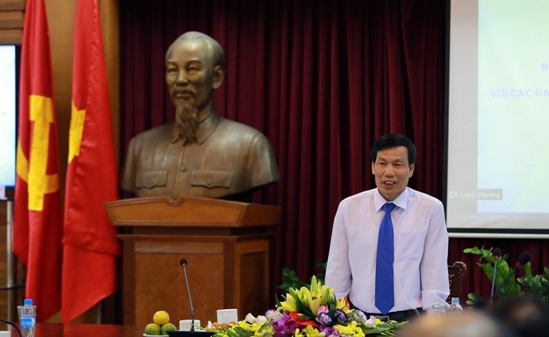 Bộ trưởng Bộ VHTTDL Nguyễn Ngọc Thiện khẳng định ngoại giao, văn hóa là cầu nối để mở đường cho kinh tế, du lịch,...